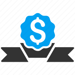award, business, dollar, finance, financial, medal, money icon