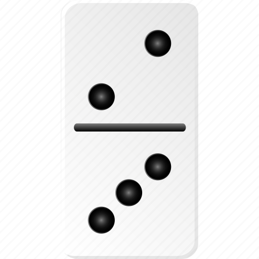 casino, domino, fun, gambling, game, hazard icon