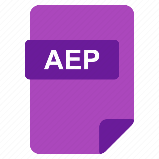 aep, file, format, type icon