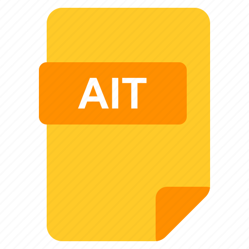 Ait, file, format, type icon - Download on Iconfinder