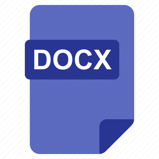 Docx, file, format, type icon - Download on Iconfinder
