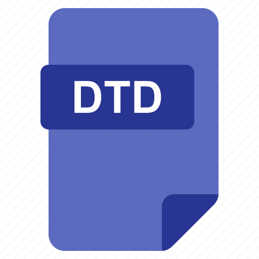 Dtd, file, format, type icon - Download on Iconfinder