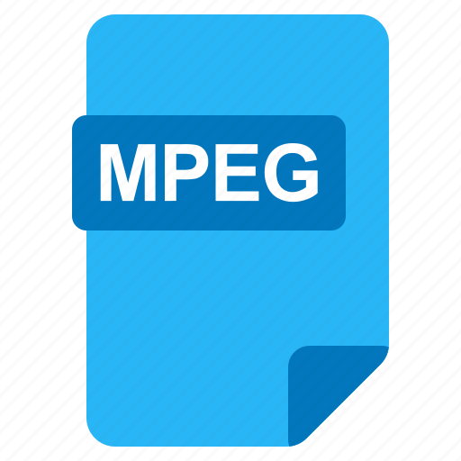 File, format, mpeg, type icon - Download on Iconfinder