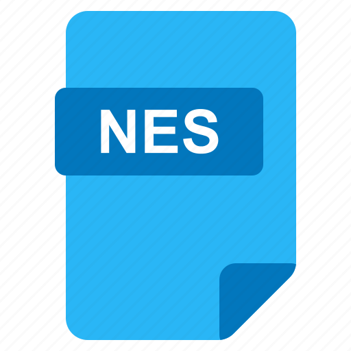 file, format, nes, type icon