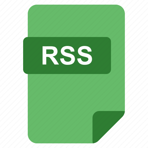 File, format, rss, type icon - Download on Iconfinder