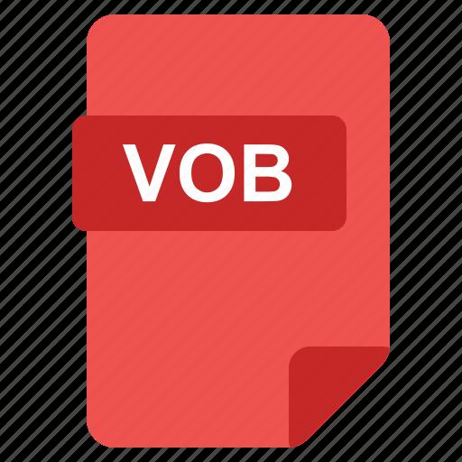 file, format, type, vob icon