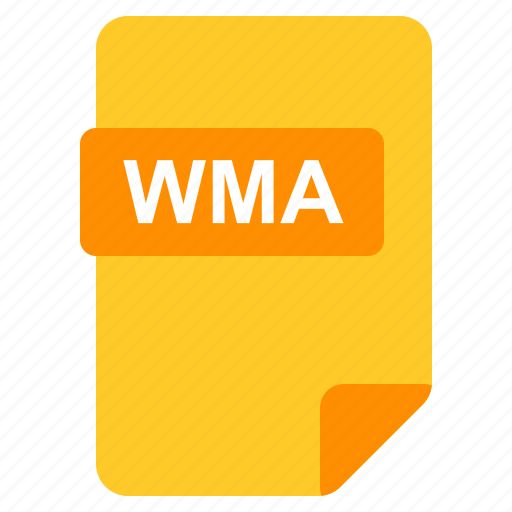 File, format, type, wma icon - Download on Iconfinder