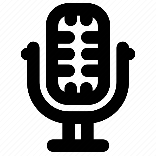 mic, microphone, voice icon
