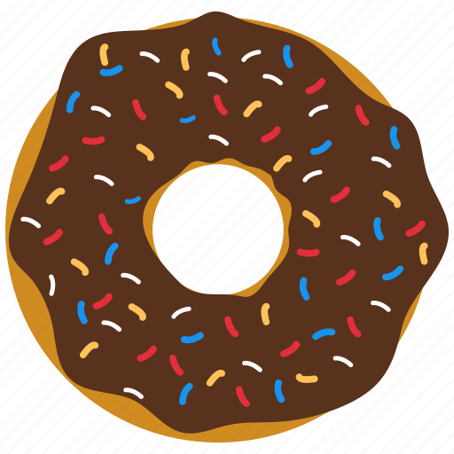 donuts, food, snack icon