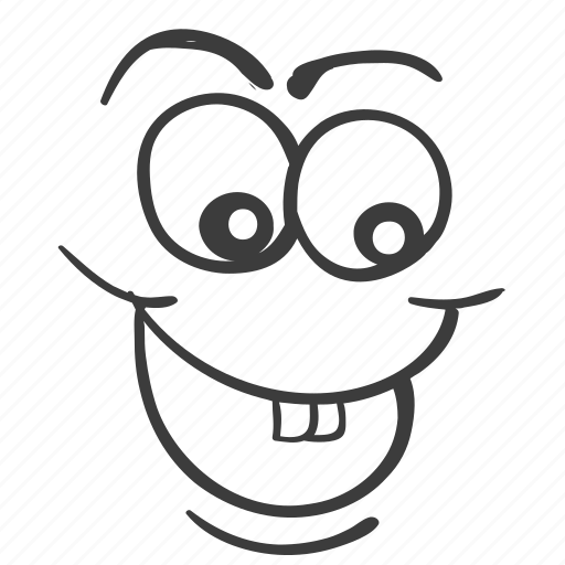 cartoon, doodle, drawn, emotion, face, faces, hand icon