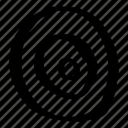 bulls eye, circle, doodles, hand drawn, pattern, scribble, target icon