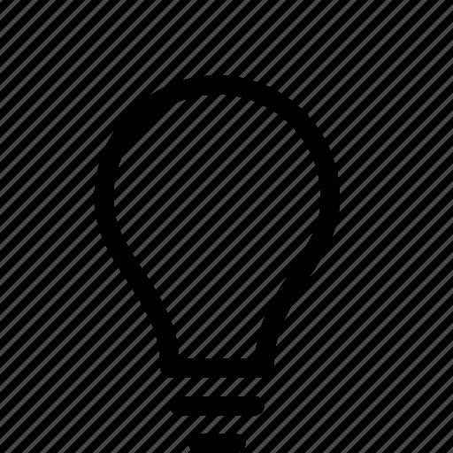 business, idea, light, lightbulb, solution icon