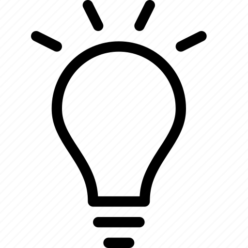 business, idea, light, lightbulb, solution icon
