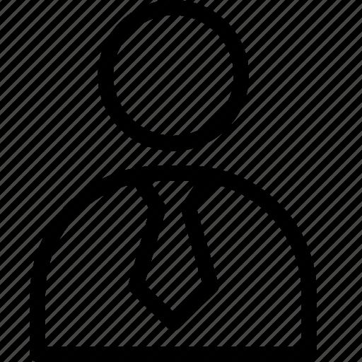 business, businessman, human, user, work icon