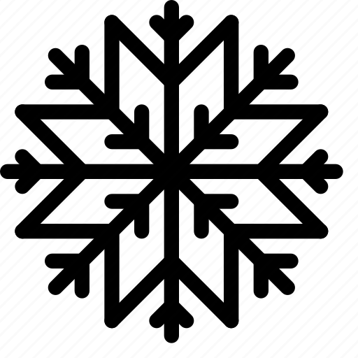 christmas, decoration, ornament, snowflake, winter icon