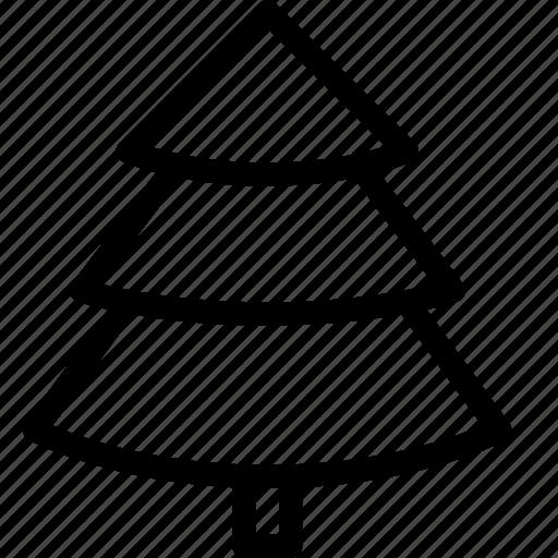 christmas, decoration, noel, park, pine, tree icon