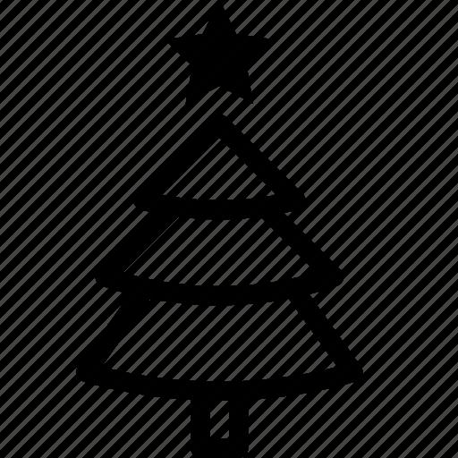 christmas, decoration, noel, pine, tree icon