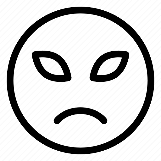 Emoji, emoticon, emotion, face, sad, sorrow icon - Download on Iconfinder