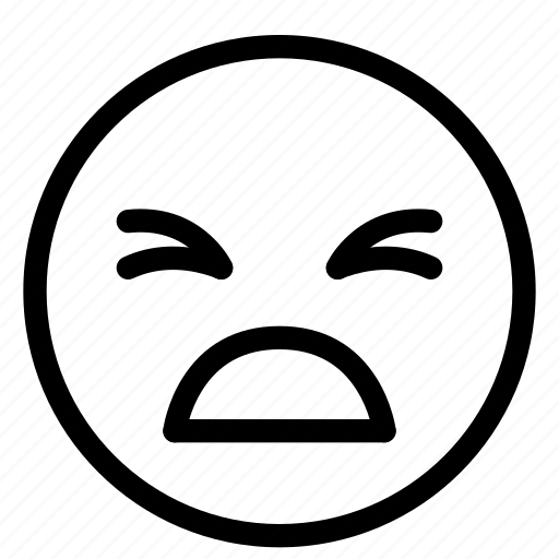Emoji, emoticon, emotion, face, sad, unhappy icon - Download on Iconfinder