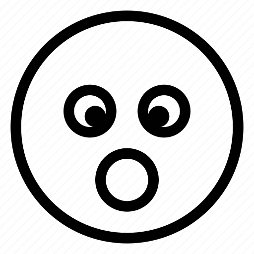 Emoji, emoticon, emotion, face, surprised icon - Download on Iconfinder
