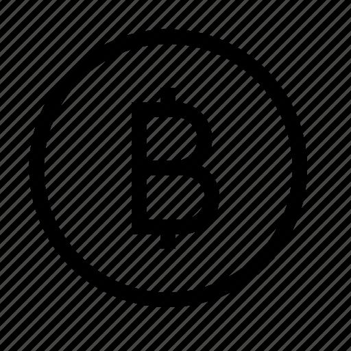 bitcoin, buniness, cash, finance, money icon