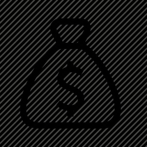 bag, business, dollar, finance, money icon