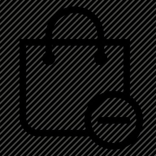 bag, delete, market, shopping, store icon