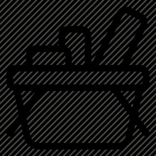 basket, market, product, shopping, store icon