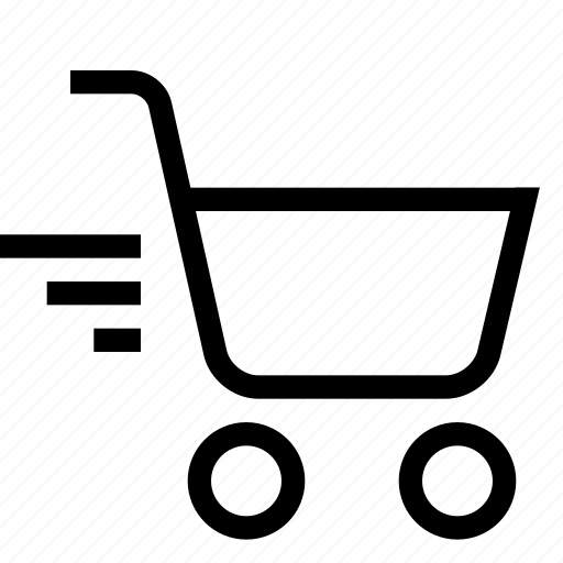 cart, express, shopping, strolley, supermarket icon