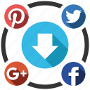 download, seo icons, seo pack, seo services, social, social media, web designer icon