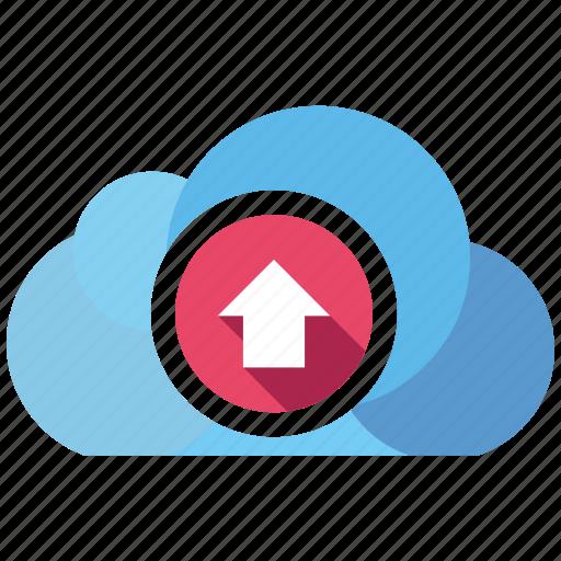 cloud, seo icons, seo pack, seo services, social media, upload, web designer icon