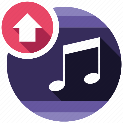 music, seo icons, seo pack, seo services, social media, upload, web designer icon