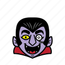 avatar, dracula, halloween, smile icon