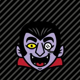 avatar, dracula, halloween, smile icon