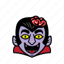 avatar, brain, dracula, halloween, smile icon