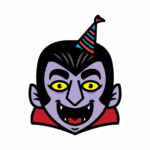 avatar, birthday, dracula, halloween icon