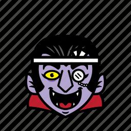 avatar, dracula, halloween, japan, smile icon