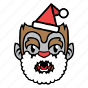avatar, halloween, wolf, xmas icon