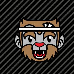 avatar, halloween, japan, smile, wolf icon