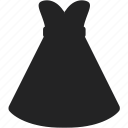 business, clothes, clothing, dress, long, shopping, skirt icon