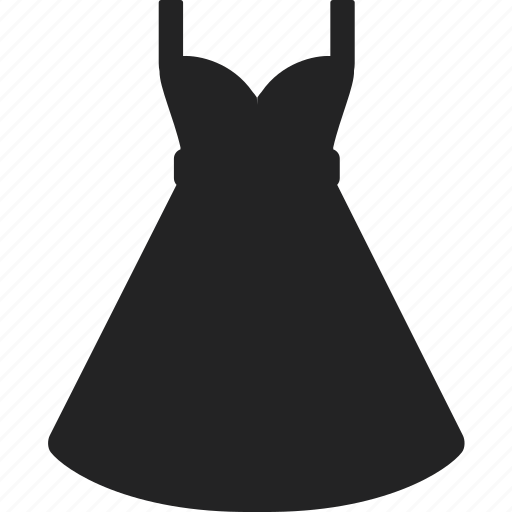 clothes, dress, fashion, long, shopping, skirt, wear icon