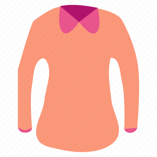 casual, clothing, dress, fashion, style, sweater, woollen icon
