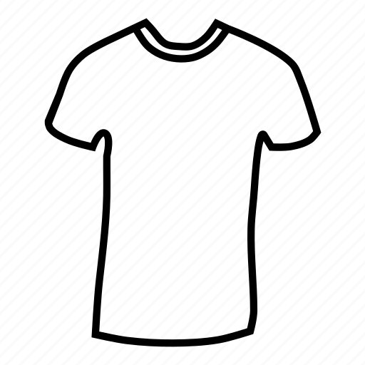 casual, clothing, dress, fashion, round, style, tee icon