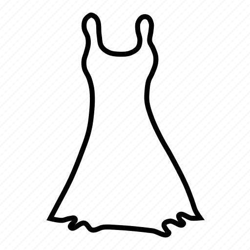clothing, dress, fashion, girl, gown, prom, skirt icon