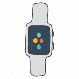 apple, clock, device, iwatch, smartwatch, time, watch icon