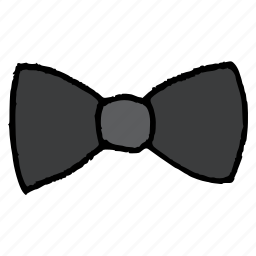 bow, clothing, dress, formal, style, tie, wear icon