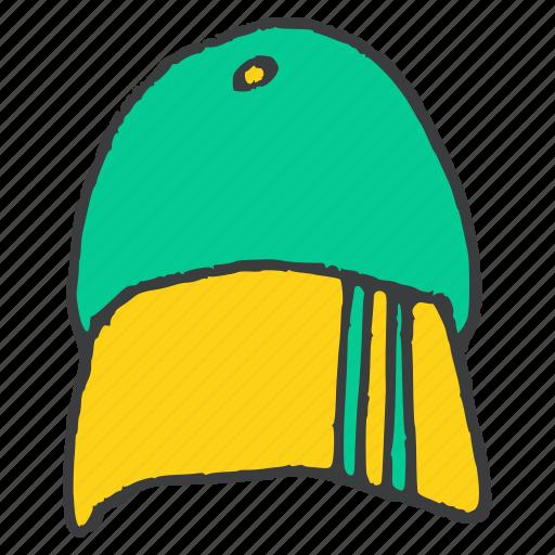 accessory, cap, clothing, dress, fashion, style, wear icon