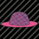 accessory, clothing, dress, fashion, hat, style, wear icon