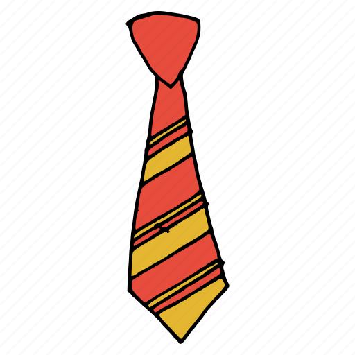 clothing, dress, formal, manager, necktie, official, tie icon