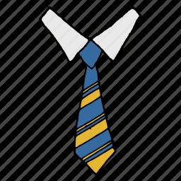 boss, clothing, dress, formal, neck, shirt, tie icon